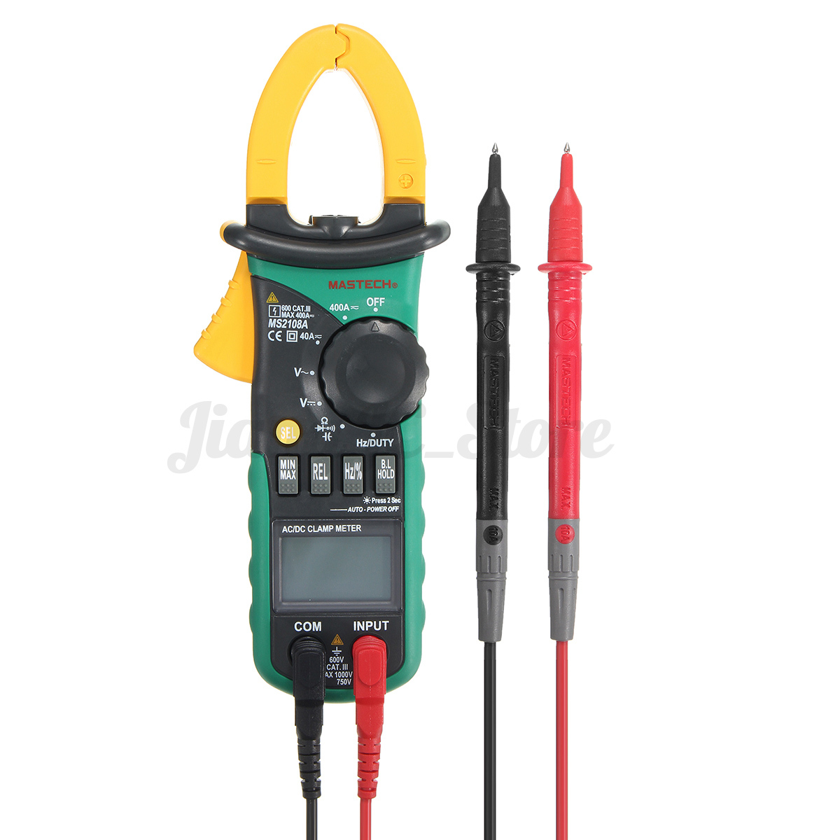 Clamp Multimeter Tester : Ms a lcd digital multimeter clamp meter ac dc frequency