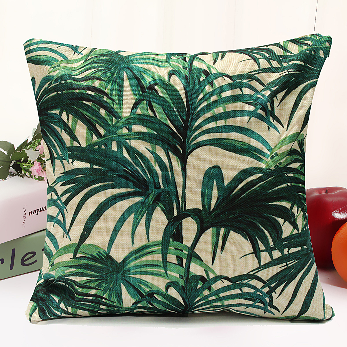 Floral Tropical Plant Leaf Cushion Covers Throw Pillow Case Home Decor AU SELLER eBay
