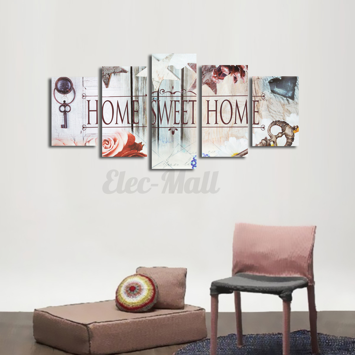 Home sweet home unframed hd canvas prints wall art Home sweet home wall decor