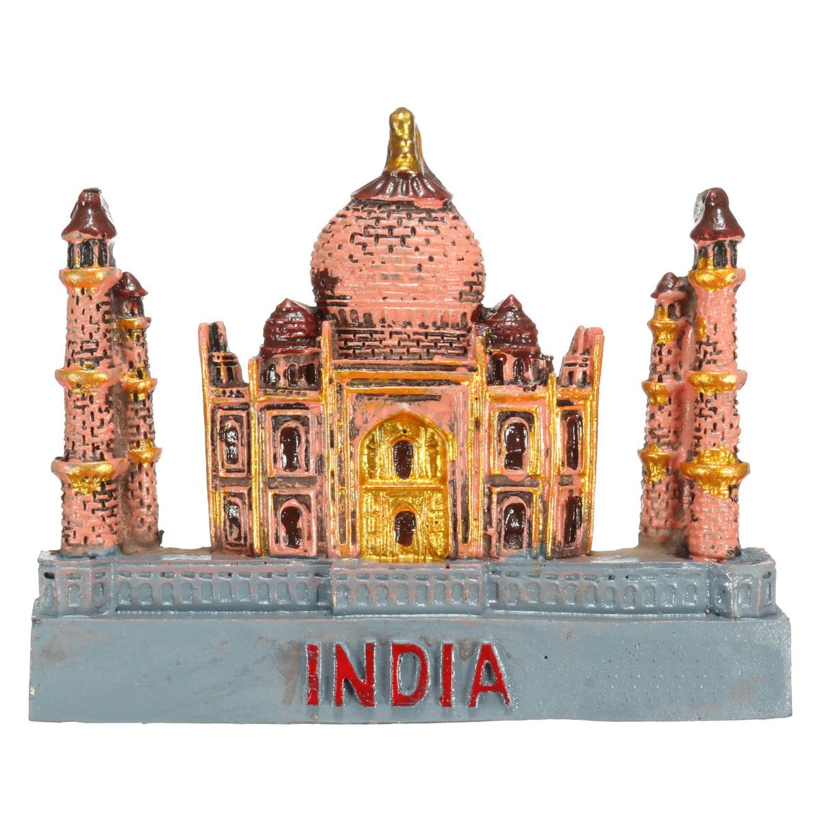 3D Resin Fridge Magnet India Taj Mahal Tourist  Souvenir Gift Decoration - Photo: 5