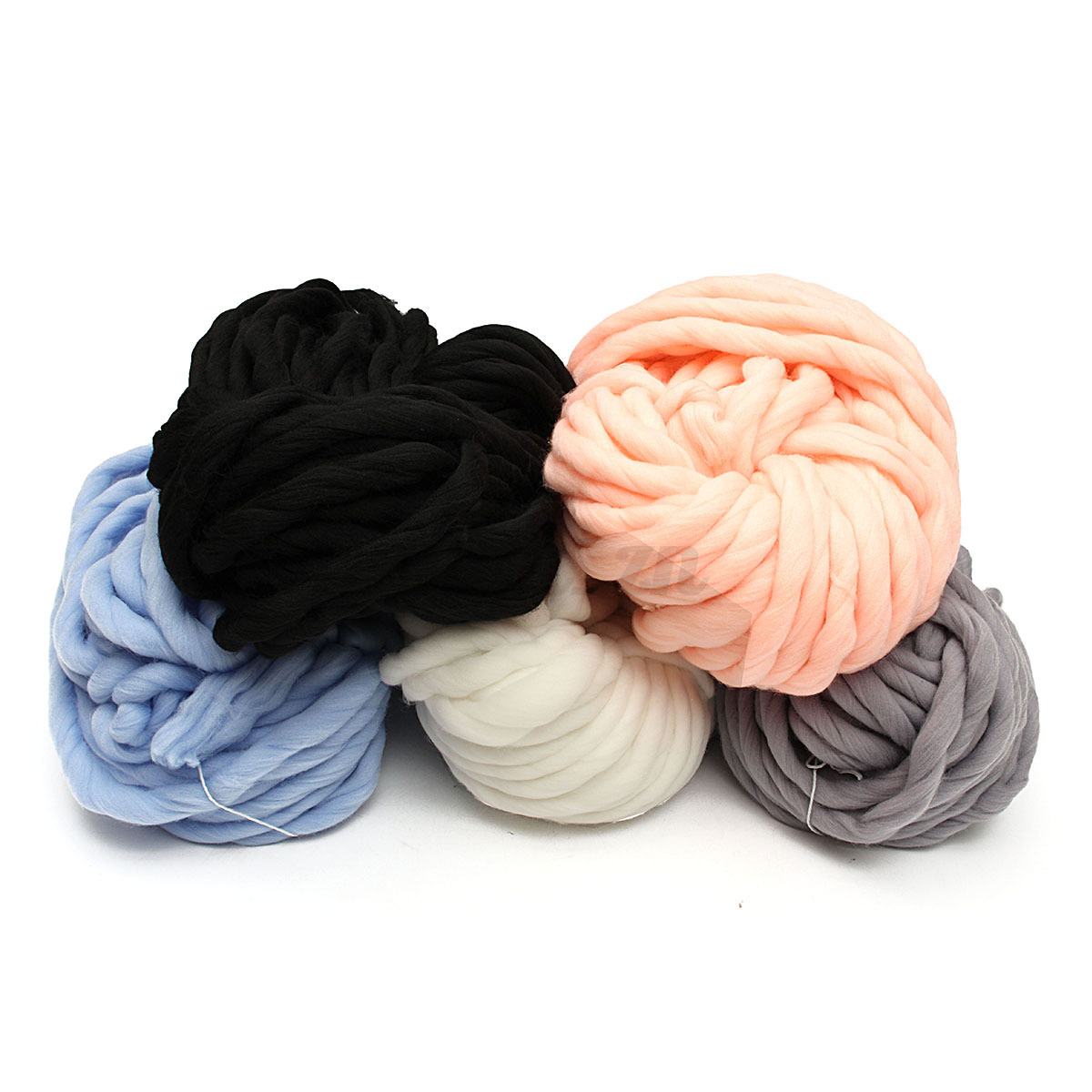 260g pelot super epais fil de laine extreme bras tricot - Tricoter avec les bras grosse laine ...
