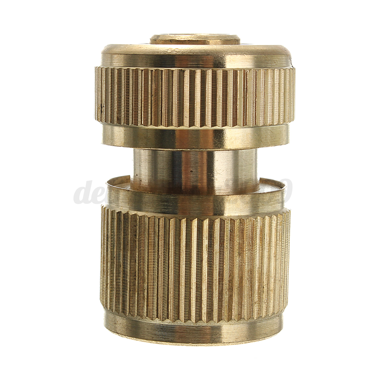 Brass water hose pipe fitting garden tap adaptor quick