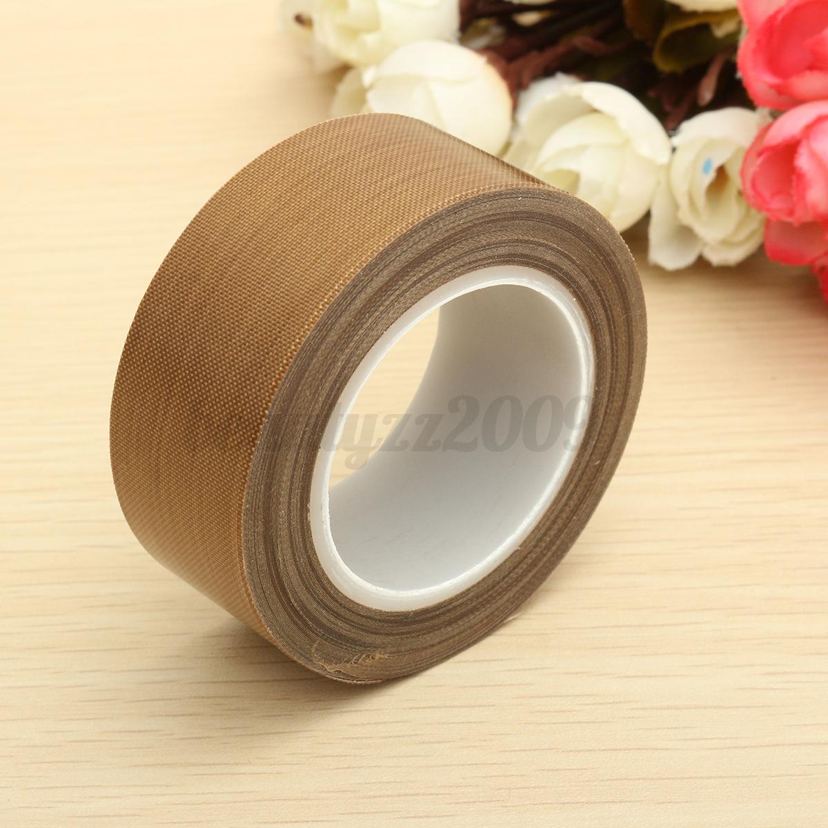 Teflon Adhesive Tape 0 18mmx25mmx10m High Temperature Ptfe