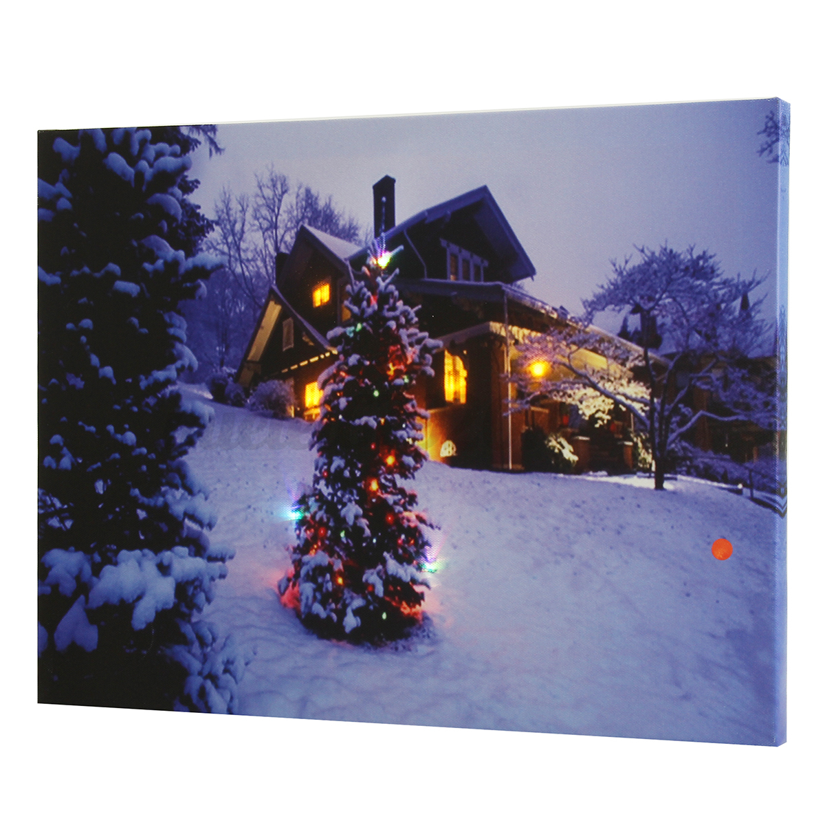 LED Light Up Christmas Canvas Pictures 30x40cm Xmas Picture Decor Wall Hanging eBay