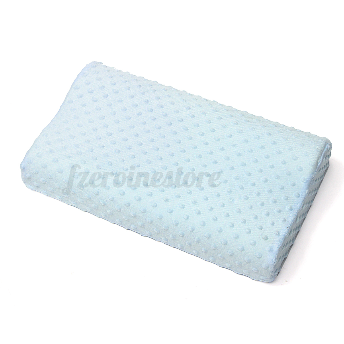 contour memory foam pillow orthopaedic firm head neck back support pillows new ebay. Black Bedroom Furniture Sets. Home Design Ideas