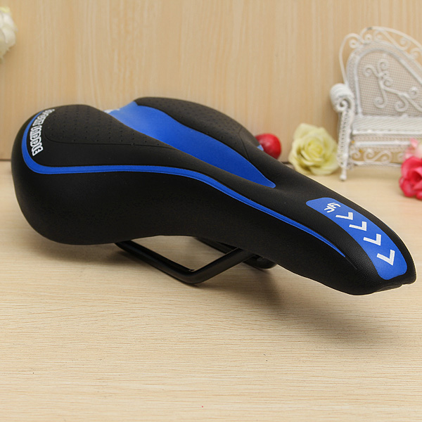 Streamlined Bicycle Seat Cover Cushion Bike Saddle Comfort Soft Pad MTB Cycling☆
