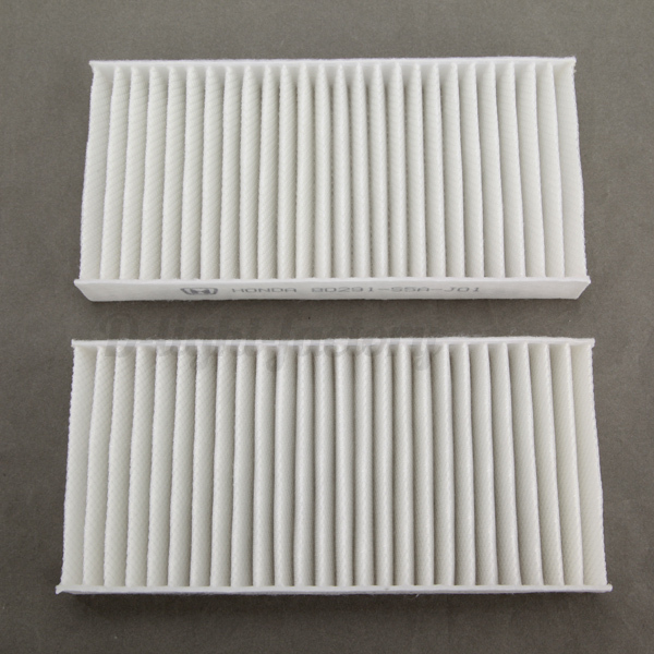 pair filters cabin pollen air filter for honda civic cr v