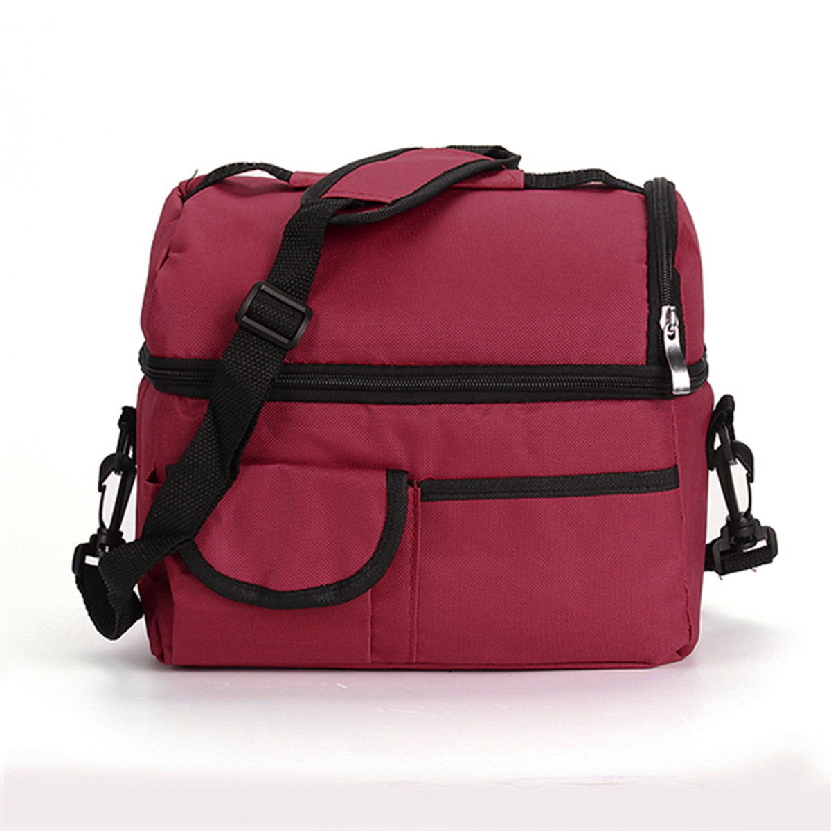Portable-Bento-Lunch-Box-Bag-Insulated-Thermal-Waterproof-Picnic-Carry-Tote thumbnail 11
