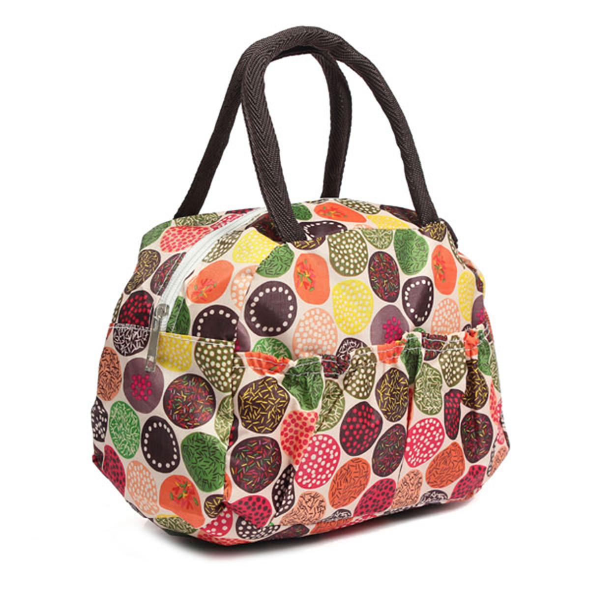 Portable Bento Lunch Box Bag Insulated Thermal Waterproof