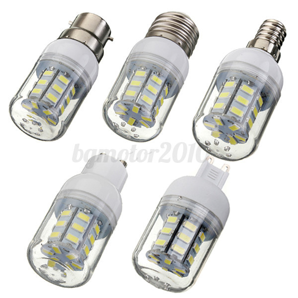 e12 e14 e27 b22 g9 gu10 27 led 5730 5630 smd ampoule lampe corn bulb 12 24 220v ebay. Black Bedroom Furniture Sets. Home Design Ideas