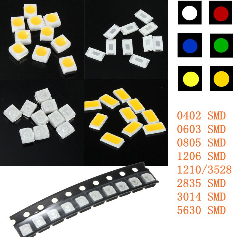 outdoor led bulbs 10x smt smd led striscia 0402 0603 0805 1206 1210 lampada 29326