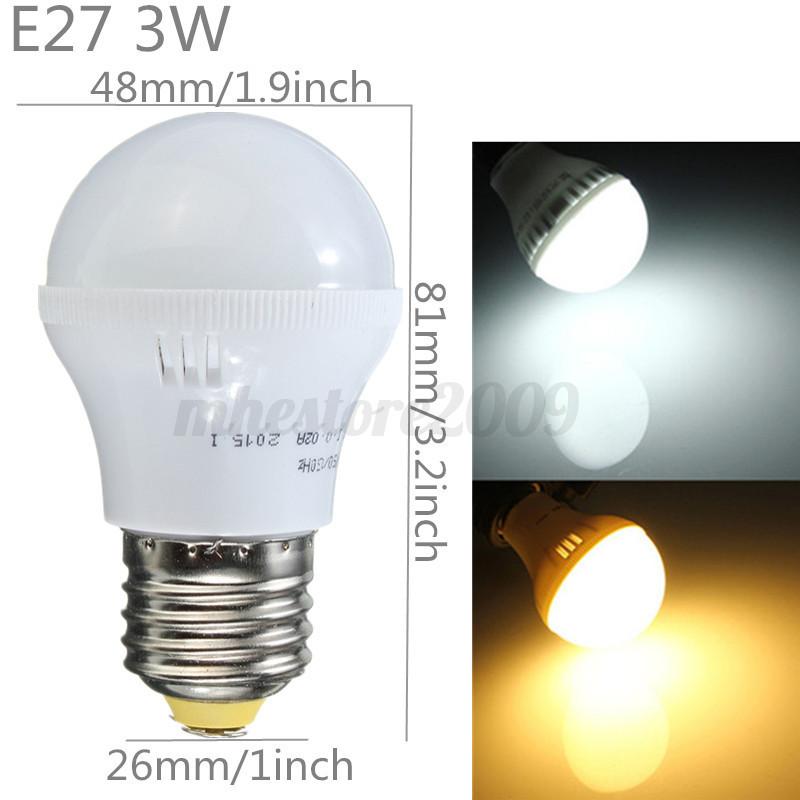 E27-E14-GU10-G9-5-6-7-9-12-15-40W-5730-LED-SMD-Ampoule-Lampe-Bulbs-Globe-Edison