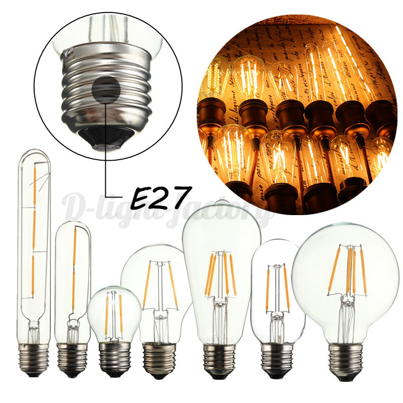 kingso e14 e27 led edison retro ampoule 2 3 4 6 8w cob bougie globe lampe light ebay. Black Bedroom Furniture Sets. Home Design Ideas