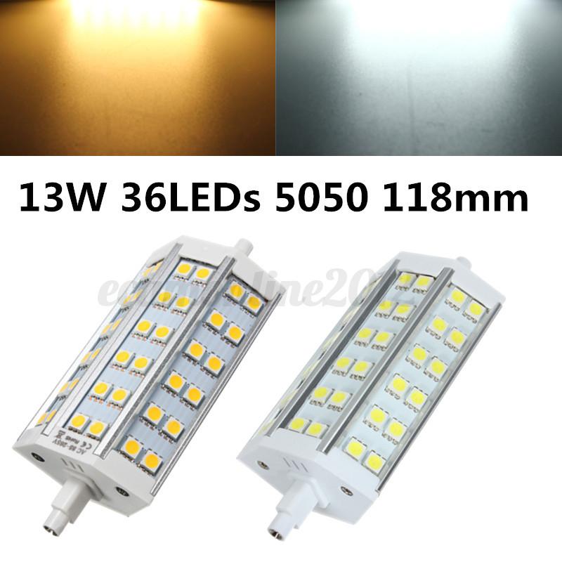 Dimmerabile r7s led 5050 smd spotlight lampadina lampada for R7s led dimmerabile