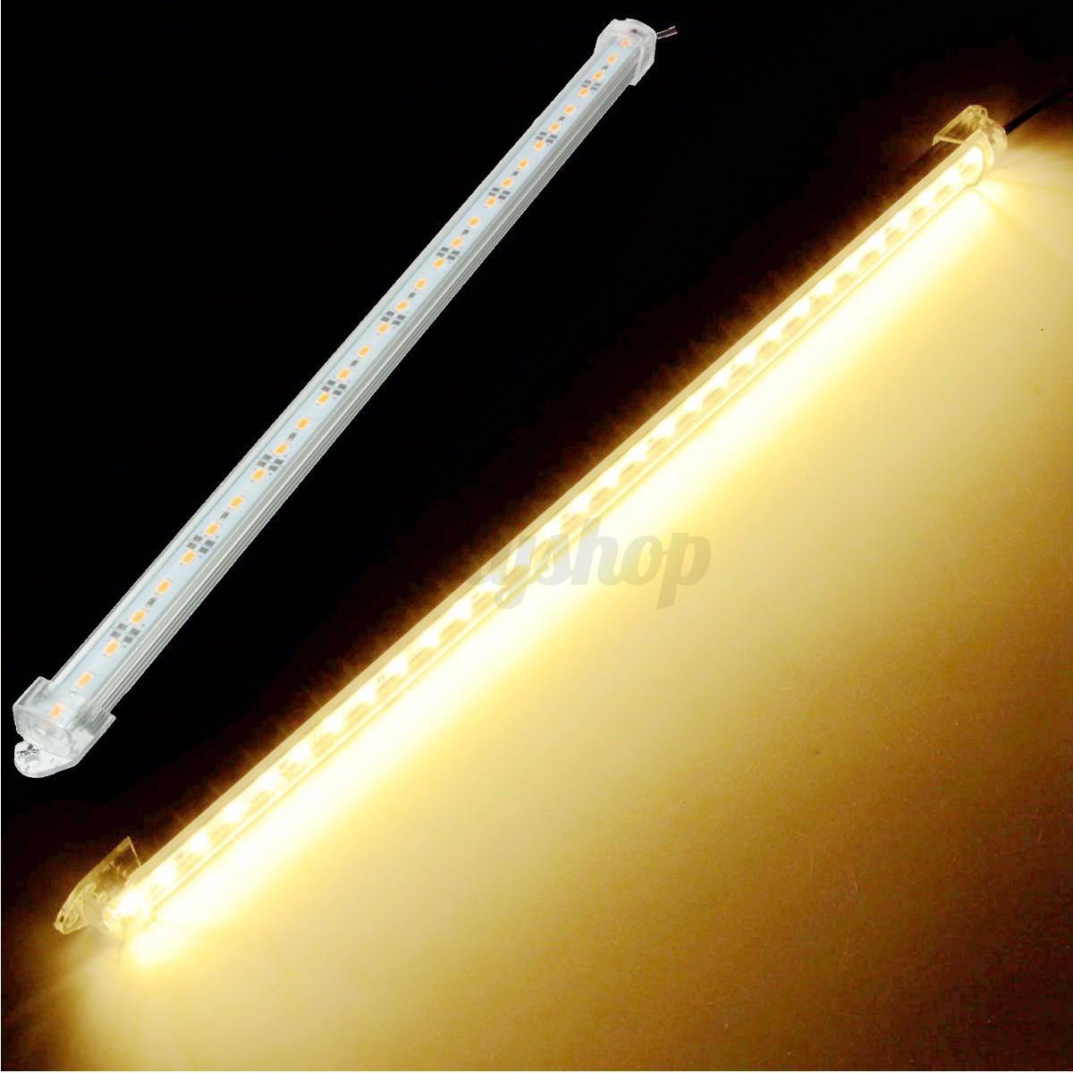 2x 12v 40cm led 5630 smd lichtleiste streifen innenbeleuchtung wei lampe licht ebay. Black Bedroom Furniture Sets. Home Design Ideas