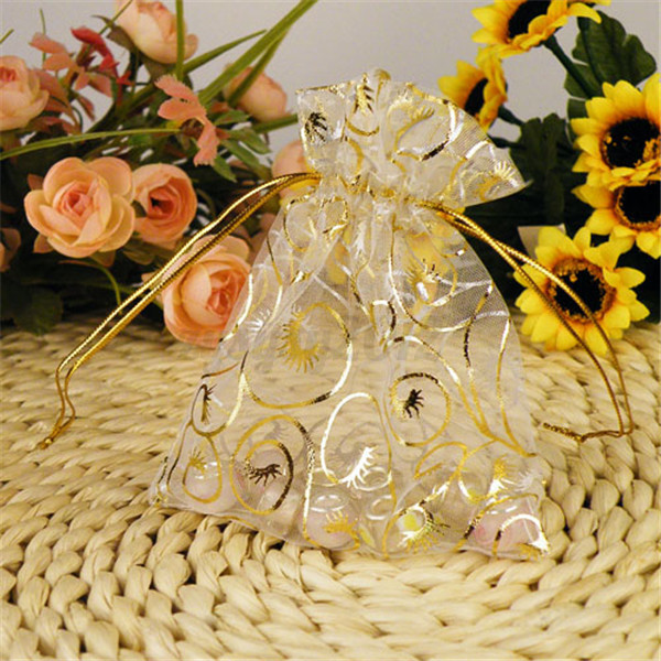 Asian Wedding Gift Bags Uk : ... Candy Organza Pouch Wedding Party Favor Gift Jewelry Bags eBay