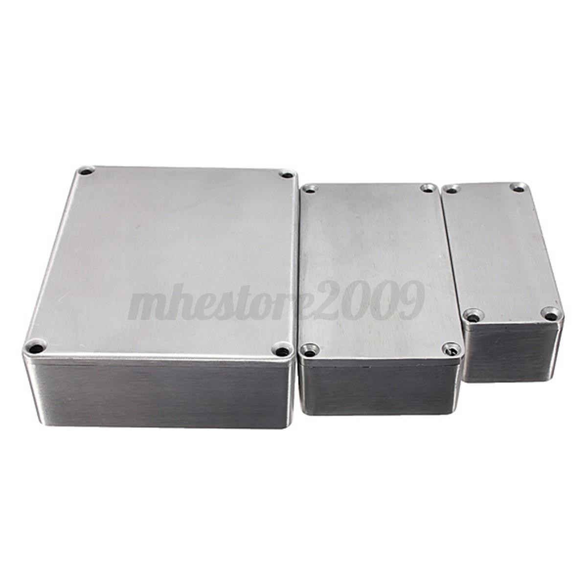 1590a 1590b 159bb style aluminum stomp project box effect pedal enclosure guitar ebay. Black Bedroom Furniture Sets. Home Design Ideas
