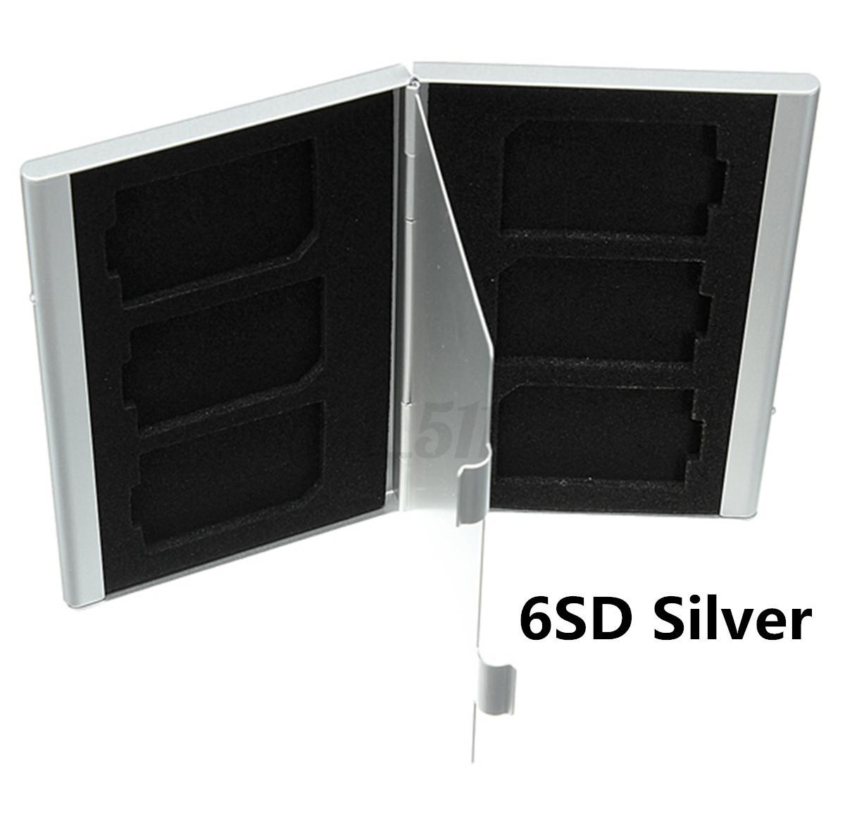 Aluminio-Caja-Funda-Protector-Estuche-Para-SD-TF-Card-Tarjeta-de-Memoria-Micro