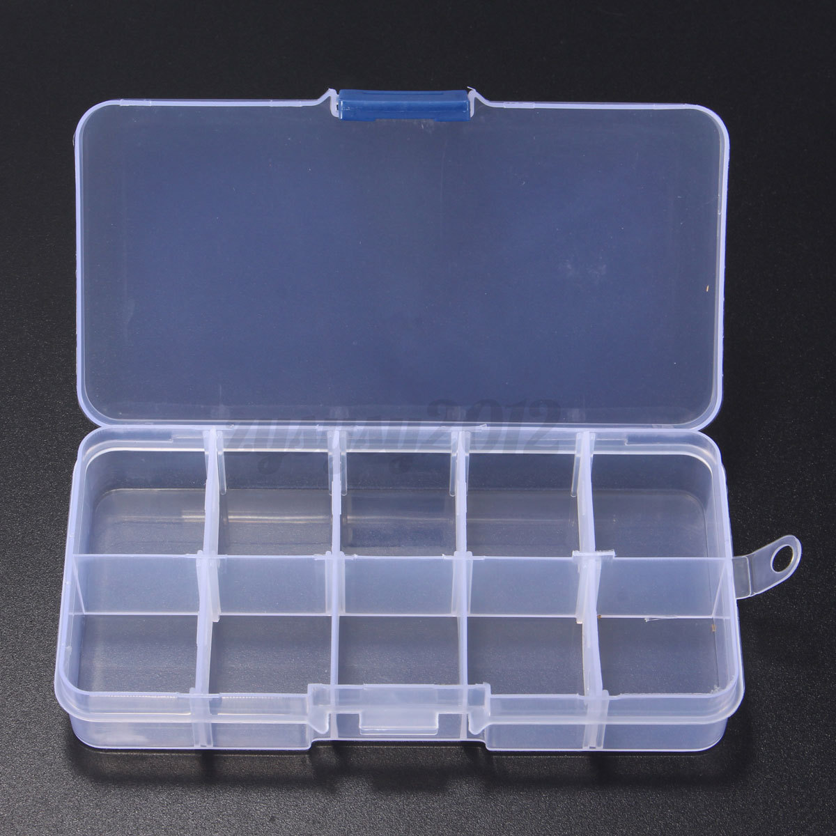 10 36 grid slot plastic jewelry adjustable storage box