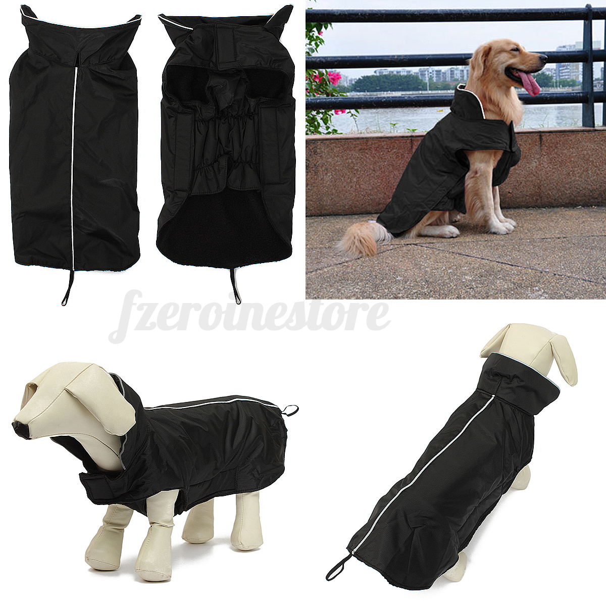 how to make winter rain jacket for dog