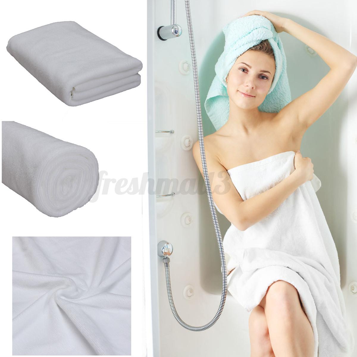 70x140cm-Serviette-De-Bain-Beach-Drap-Sechage-Microfibre-Toilette-Bath-Douche
