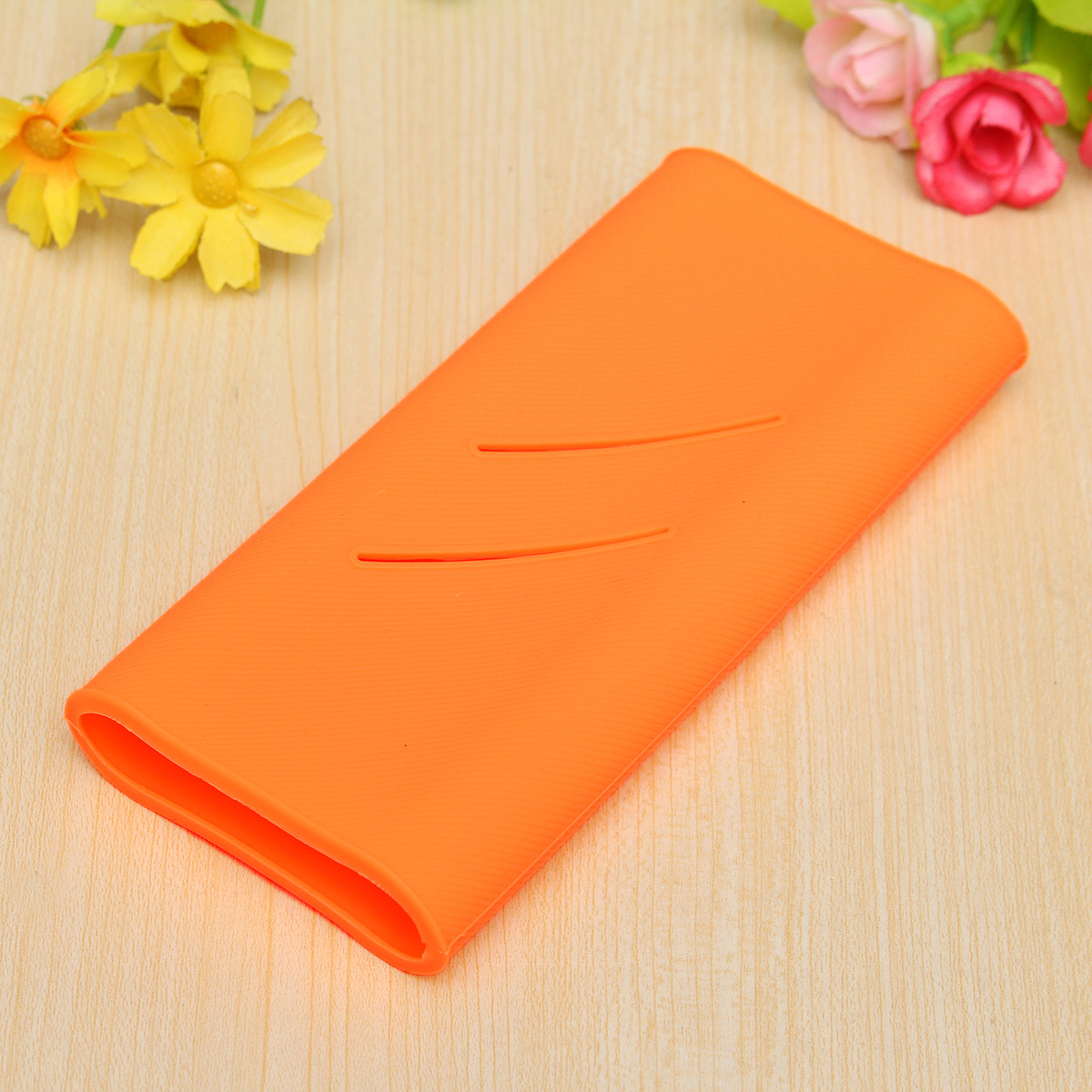 Xiaomi Silicon Case For Mi Power Bank 16000 Mah Orange Daftar Silicone Powerbank 5000 Hitam New Soft Protective Cover
