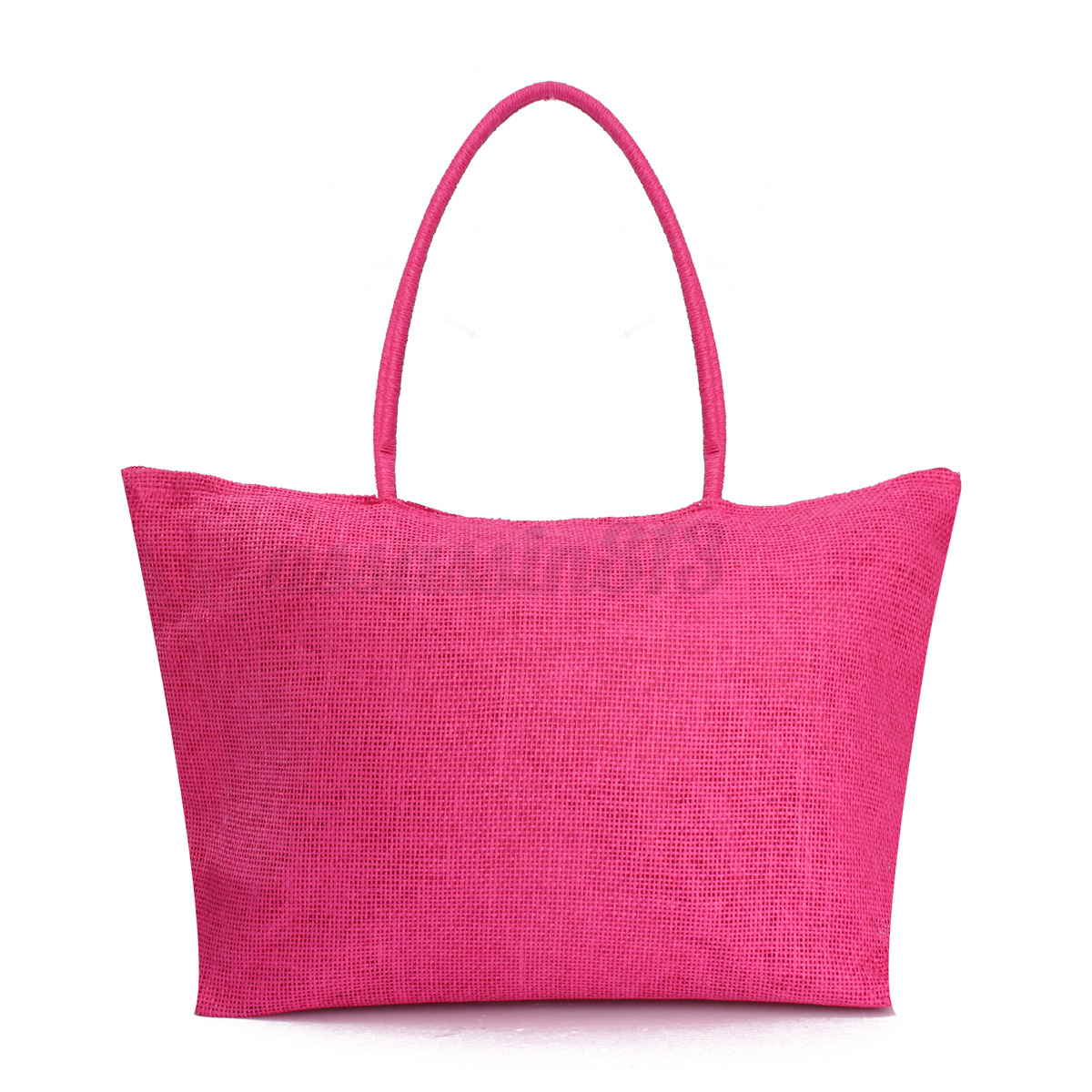 Women Summer Straw Weave Shoulder Tote Shopping Lady Beach ...