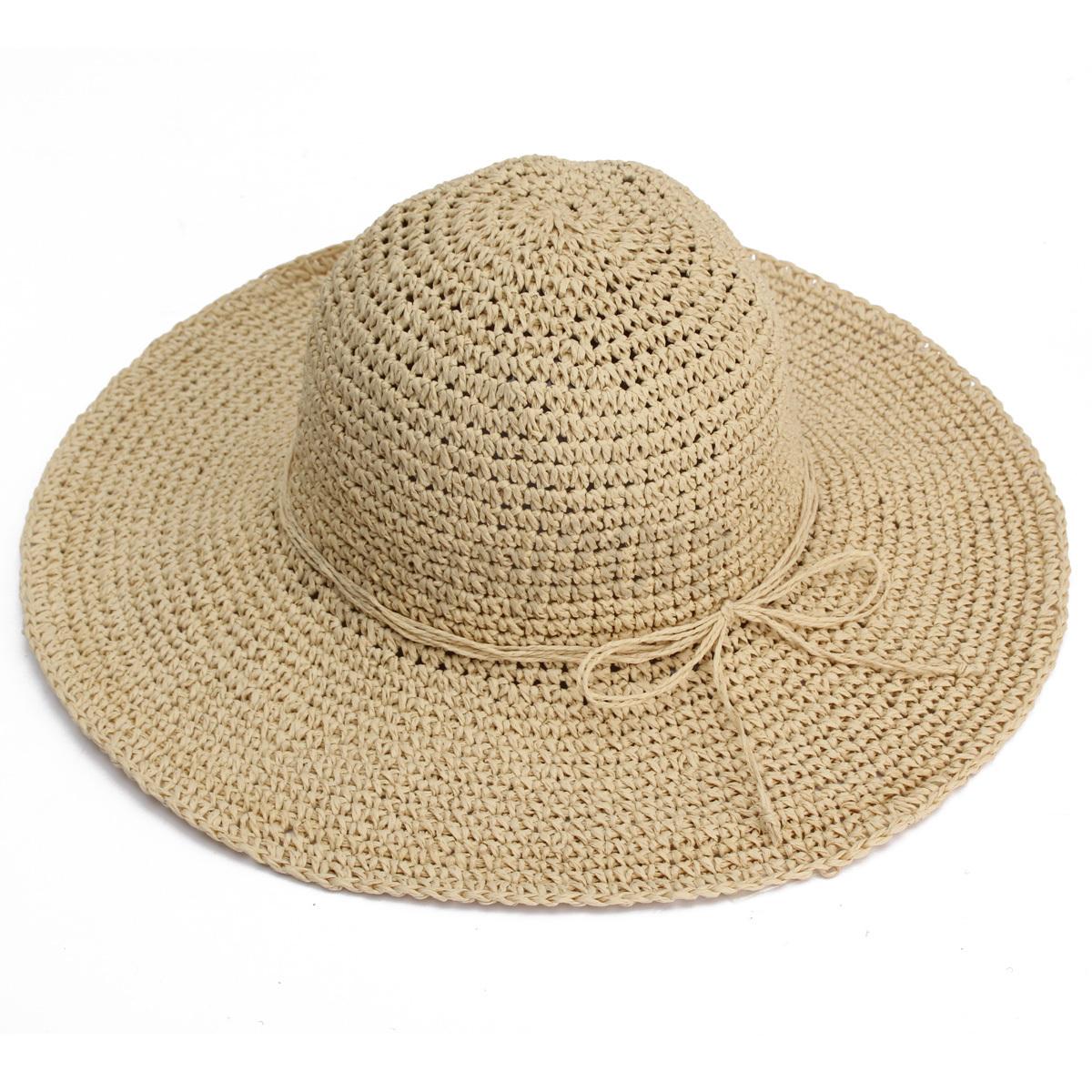 uk handmade foldable summer large brim straw floppy