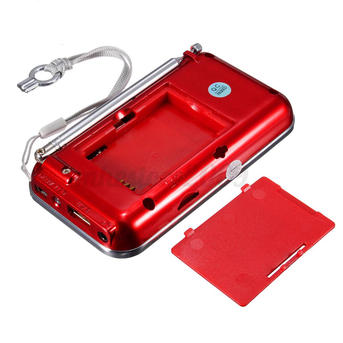 lcd digital auto mini fm radio speaker usb micro sd tf card mp3 music player ebay. Black Bedroom Furniture Sets. Home Design Ideas