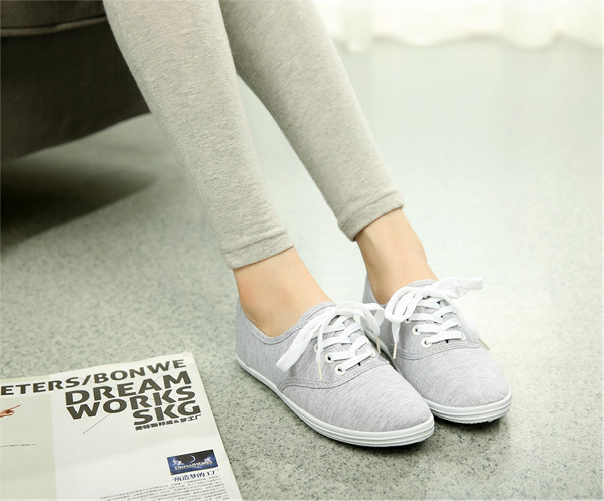 Classic Womens Canvas Casual Sneakers