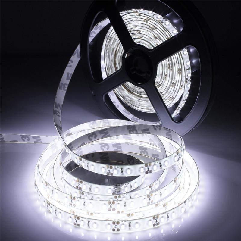 Waterproof-5M-SMD-300-600-LED-3014-3528-5050-5630-Flexible-Strip-Light-12V-White