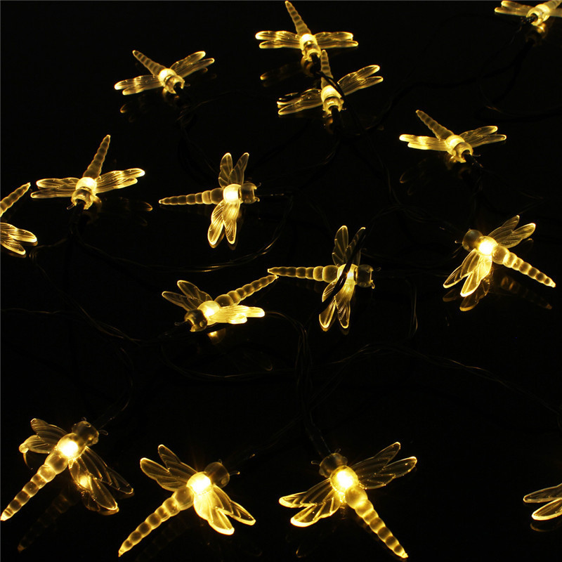 Electric Butterfly String Lights : Warm White Christmas Wedding Xmas Party Decor Outdoor String Fairy Light Lamp eBay