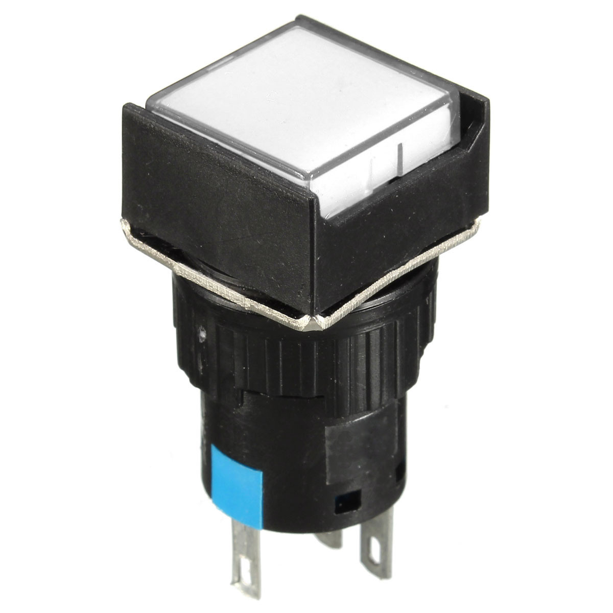 Momentary Latching Push Button Switch Rectangular Dc 12v 24v Led Cool Electronics Circuits A