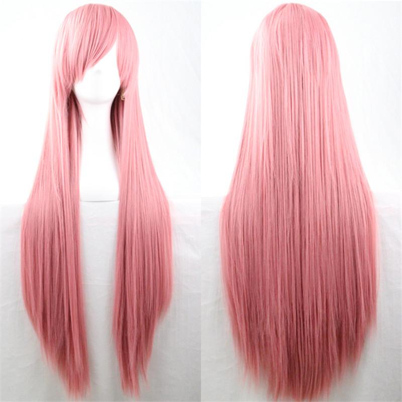 Moda-Cosplay-Partido-Anime-largo-Mujeres-rectas-Peluca-de-pelo-completo-resist