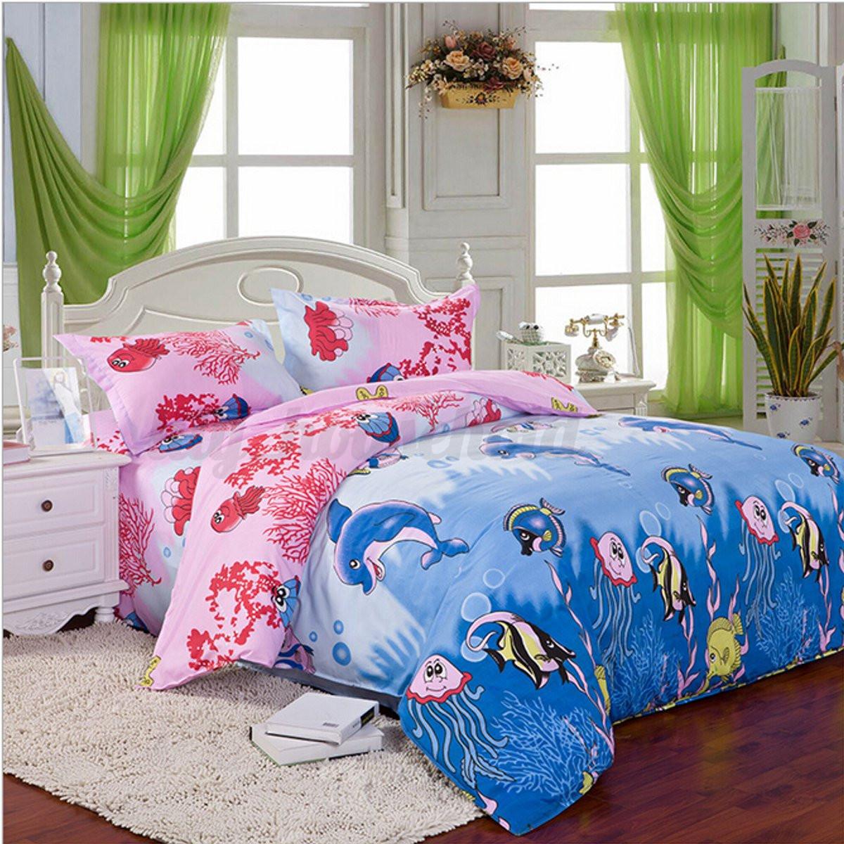 3 4 tlg bettw sche bettgarnitur baumwolle kissen decke 150 x 200 200 x 230cm ebay. Black Bedroom Furniture Sets. Home Design Ideas