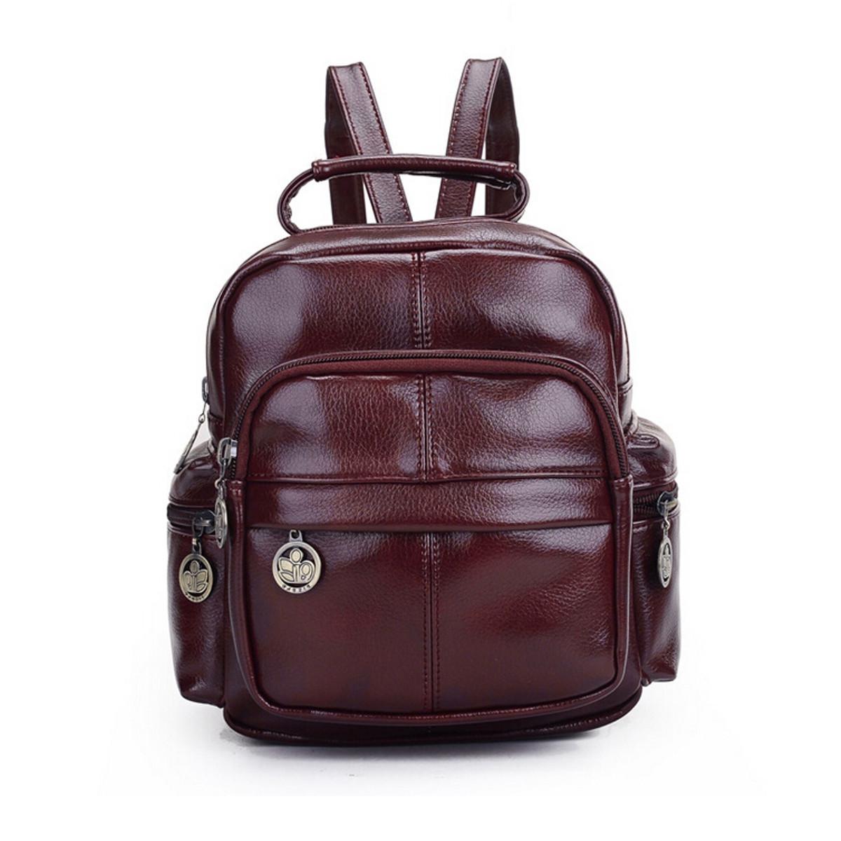 Leather Backpack: Meet Models