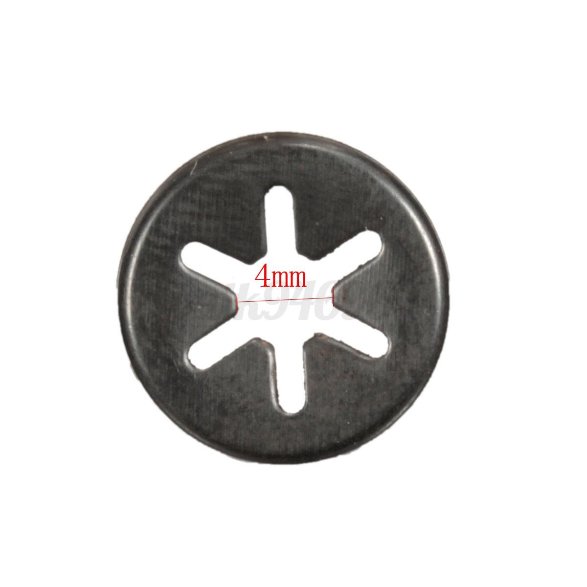 3 6mm Starlock Push On Fasteners Locking Washers Speed