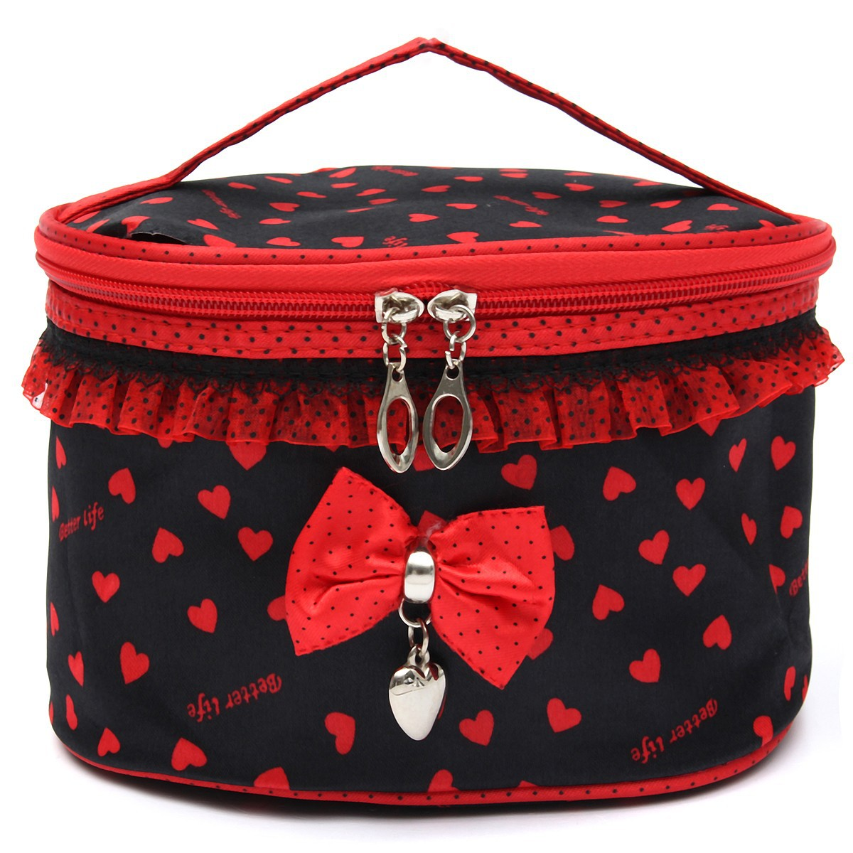 toilette pochette trousse organisateur sac main rangement voyage maquillage ebay. Black Bedroom Furniture Sets. Home Design Ideas