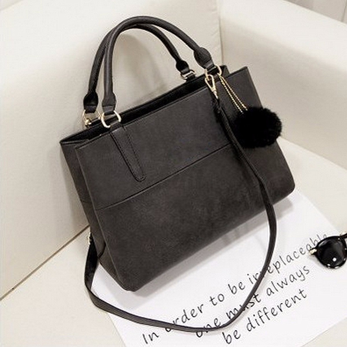 Fashion Women Handbag Leather Shoulder Bag Messenger Tote Purse Ladies Satchel