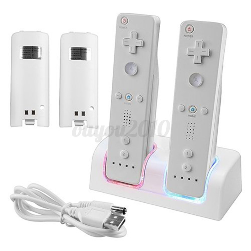 wii remote charging dock instructions