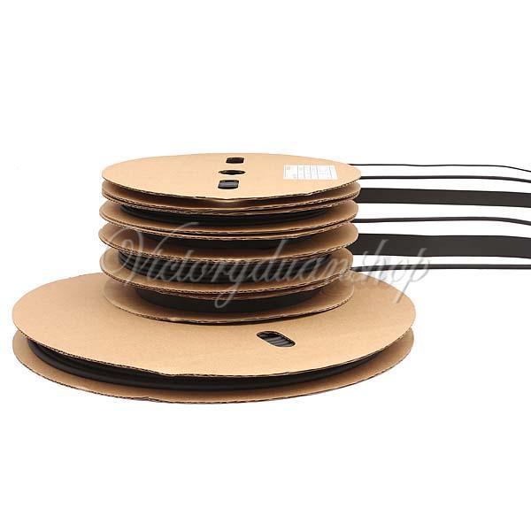 Ft m heat shrink tubing waterproof tube reel spool
