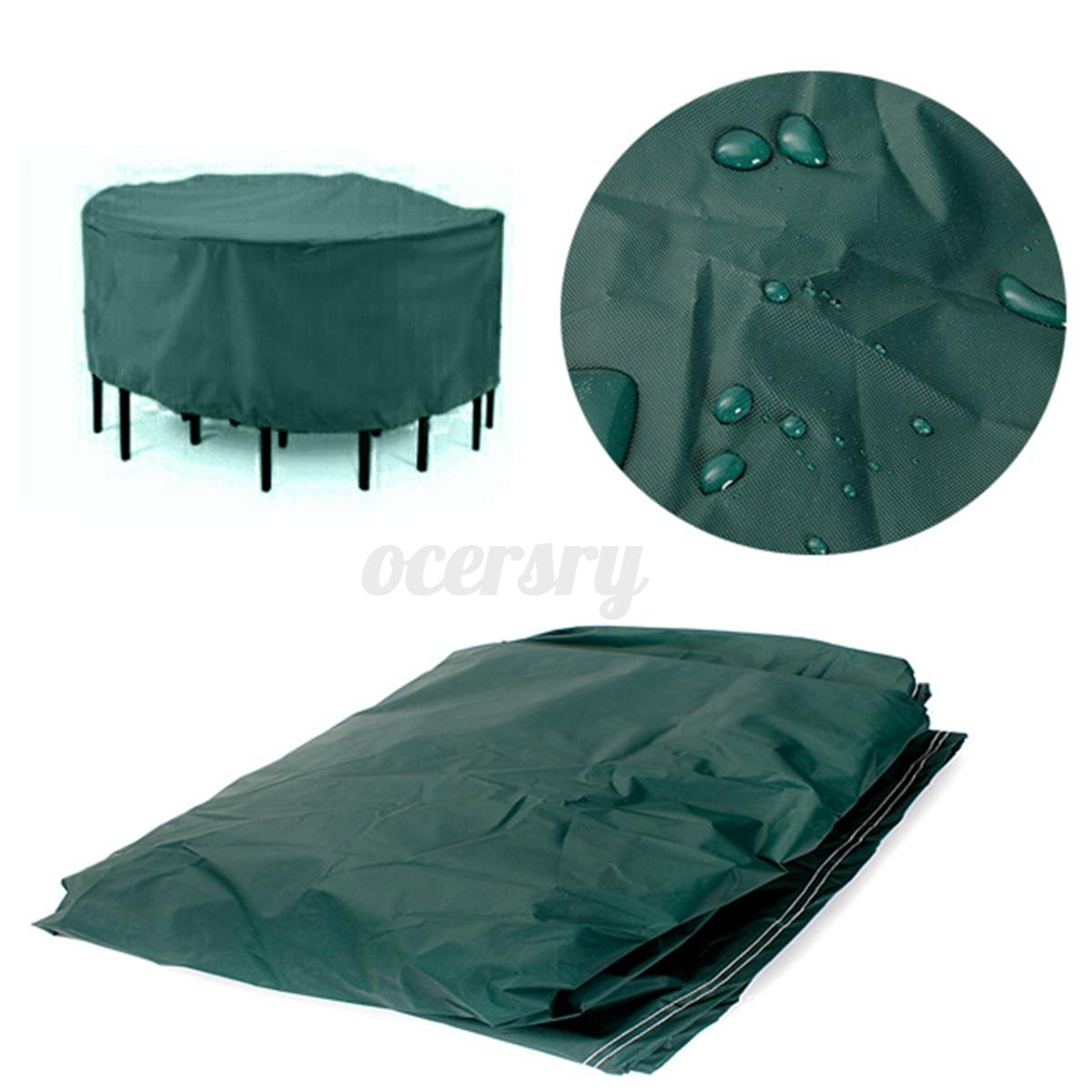 140x95cm gartenm bel schutzh lle schutzplane abdeckung h lle rund wasserdicht ebay. Black Bedroom Furniture Sets. Home Design Ideas