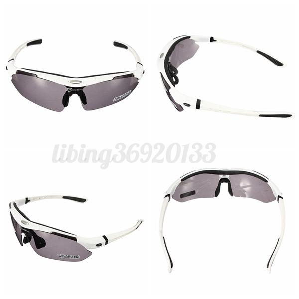 fahrrad brille sonnenbrille 5 wechselgl ser motorrad bmx brille sportbrille set ebay. Black Bedroom Furniture Sets. Home Design Ideas