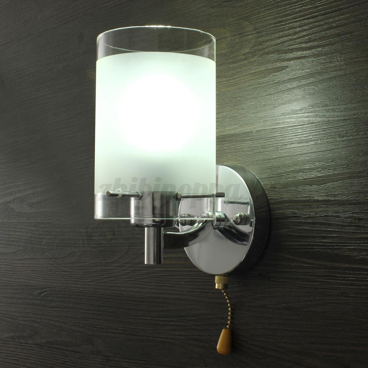 Modern Wall Light Sconce Lighting Lamp Fixture Indoor Home Bedroom ...