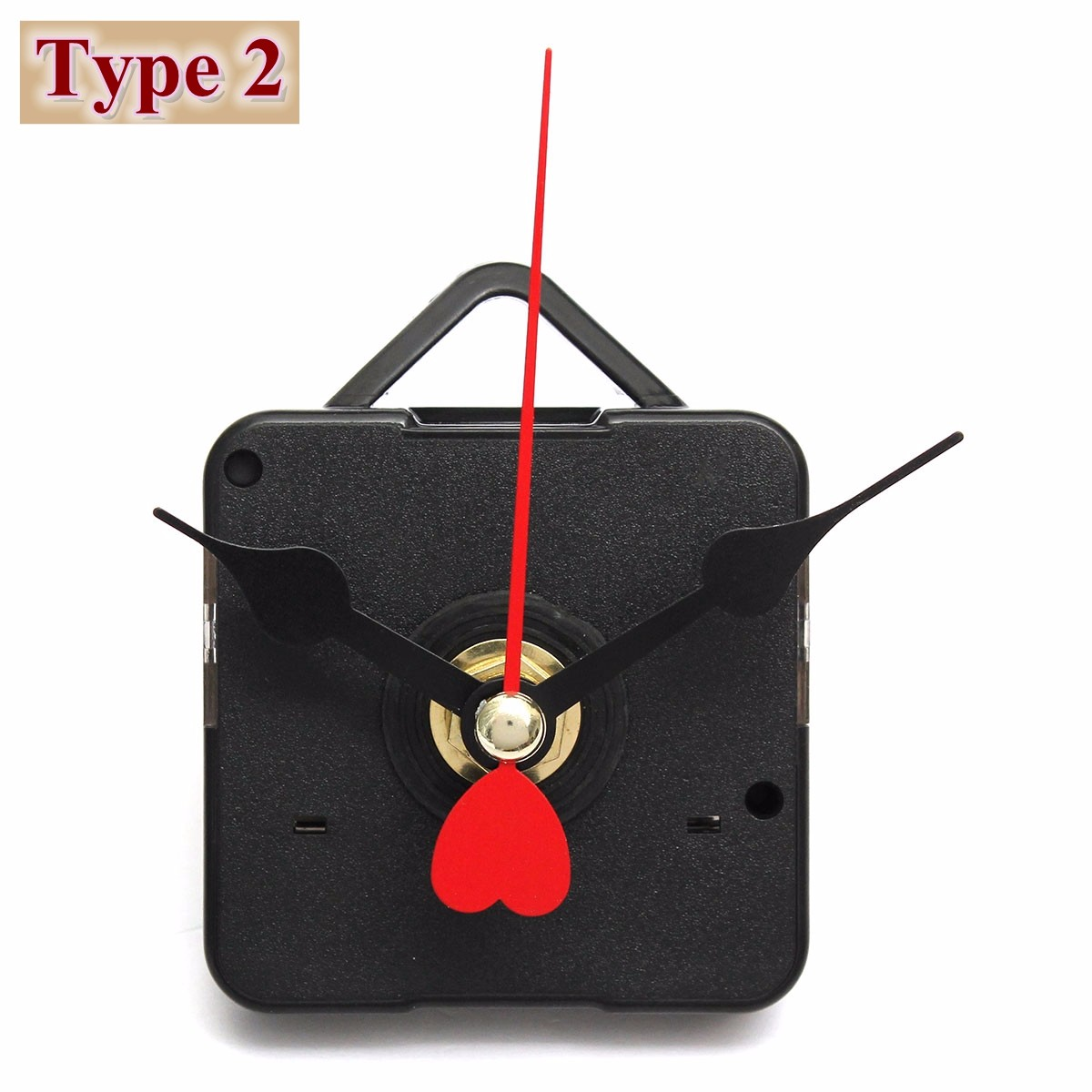 NEW-12-Types-DIY-Quartz-Clock-Movement-Mechanism-Repair-DIY-Tool-Hands-Kit-Black