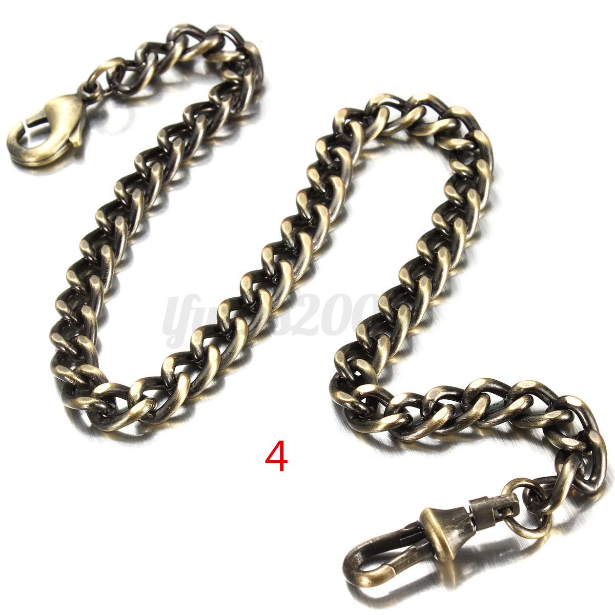 UHR-Taschenuhr-Kettenuhr-Taschenuhrenkette-Pocket-Watch-Uhrenkette-Halskette