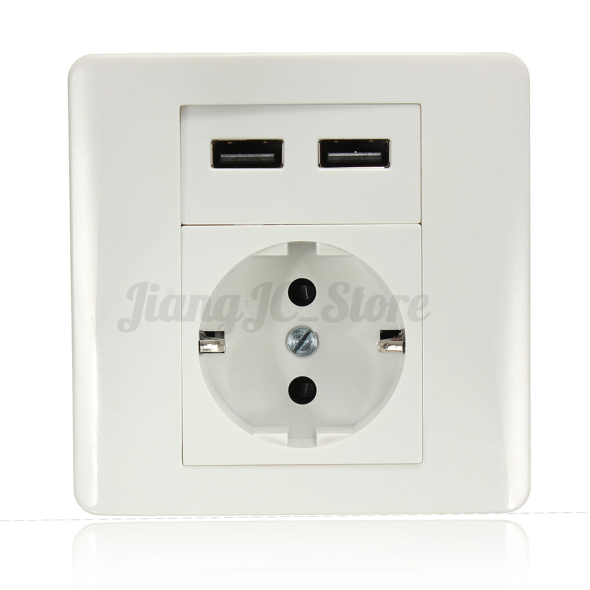 Universal Electrical AU USB Power Outlet Light Switch Wall Socket TV ...