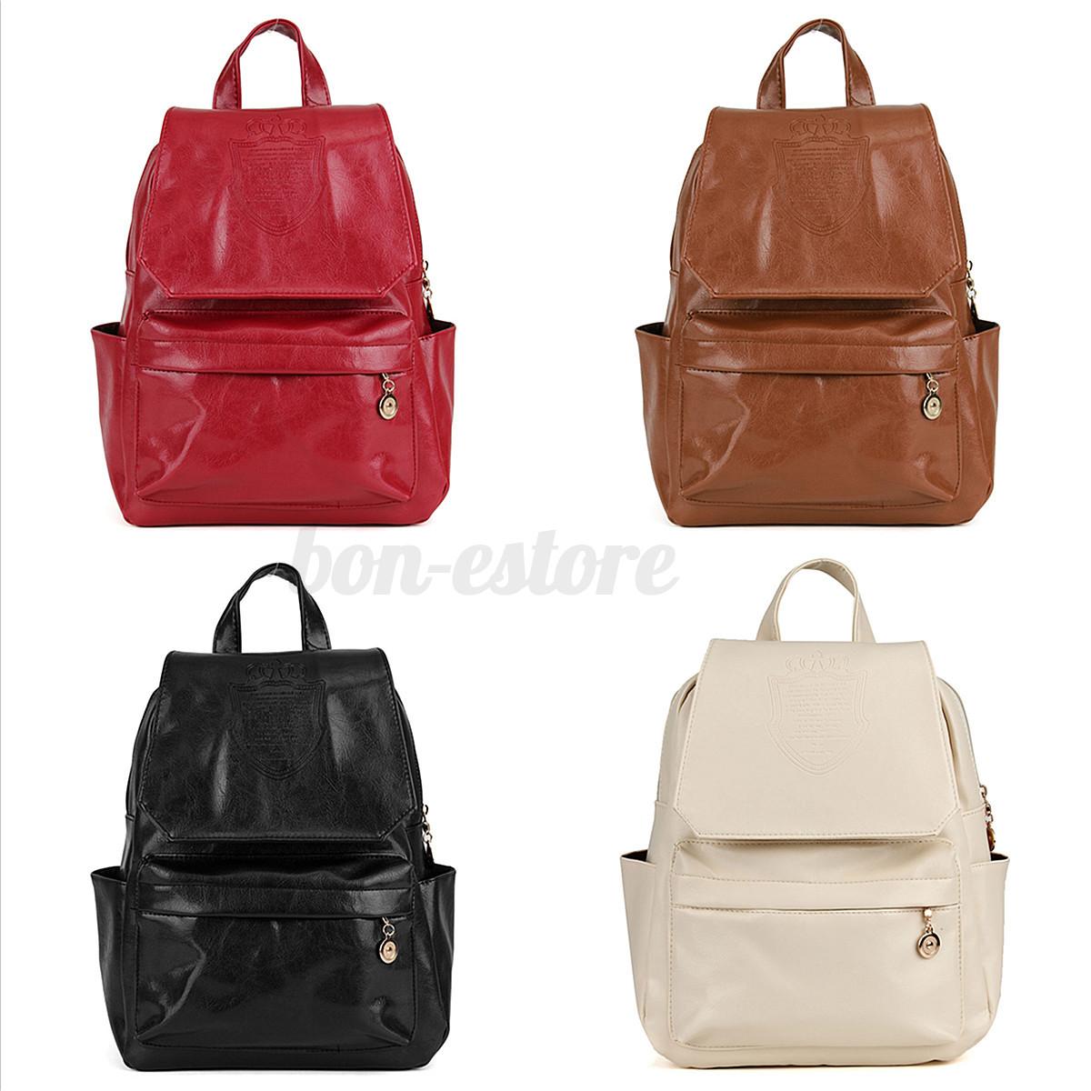 US Women Men Backpack School Bookbag Laptop Travel Rucksack ...