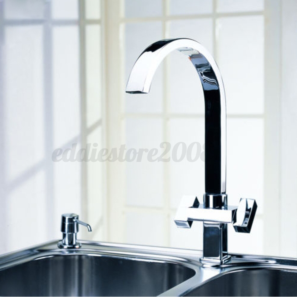 360 176 Swivel Kitchen Faucet Spout Pull Down Sprayer Bathroom Sink Mixer Tap Ebay