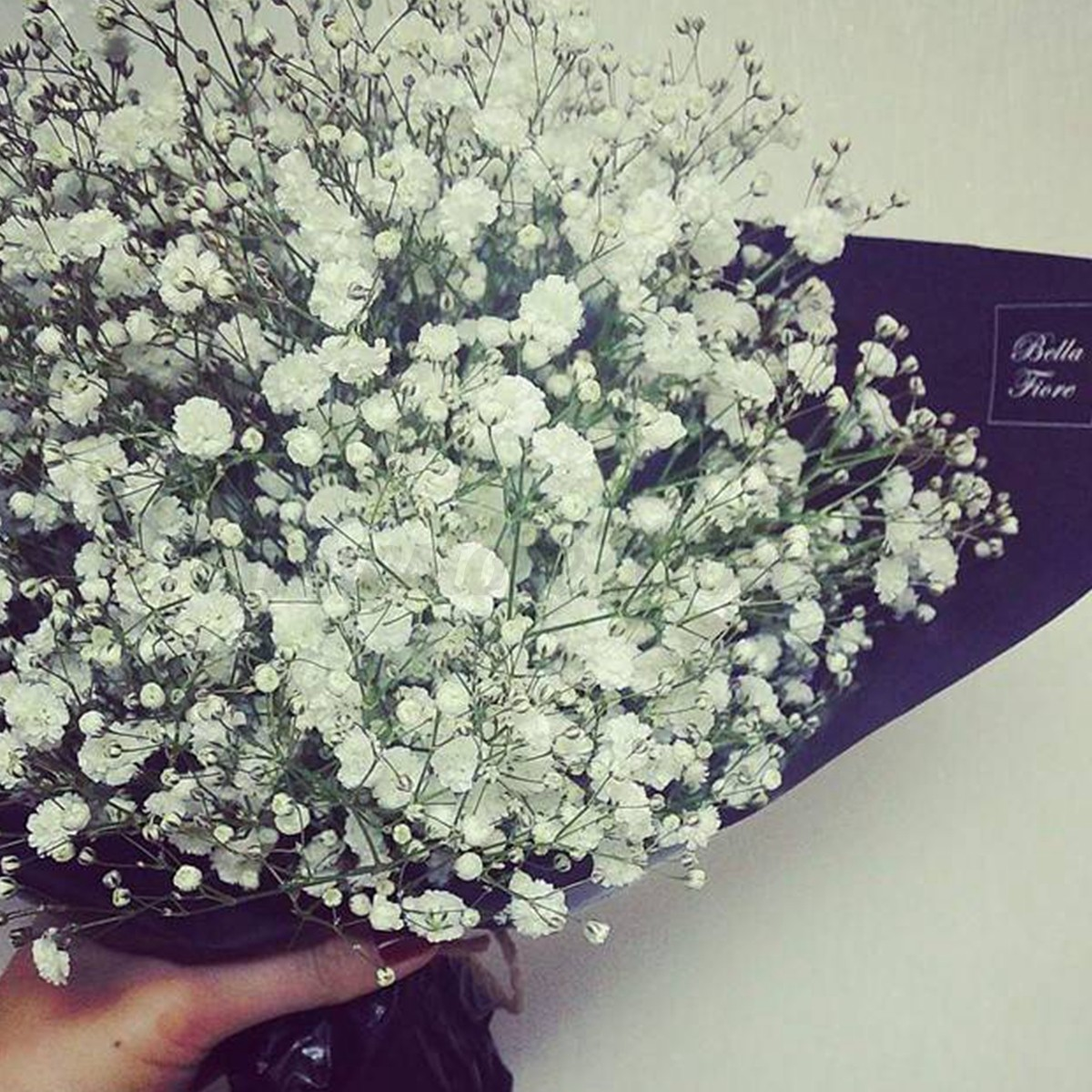 Artificial silk gypsophila flower bouquet baby breath for Artificial flowers for home decoration online